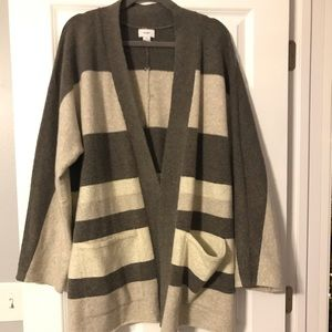 J. Jill open cardigan XL
